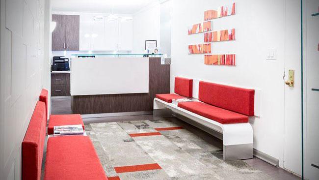 Sutton Place Dental Associates front desk