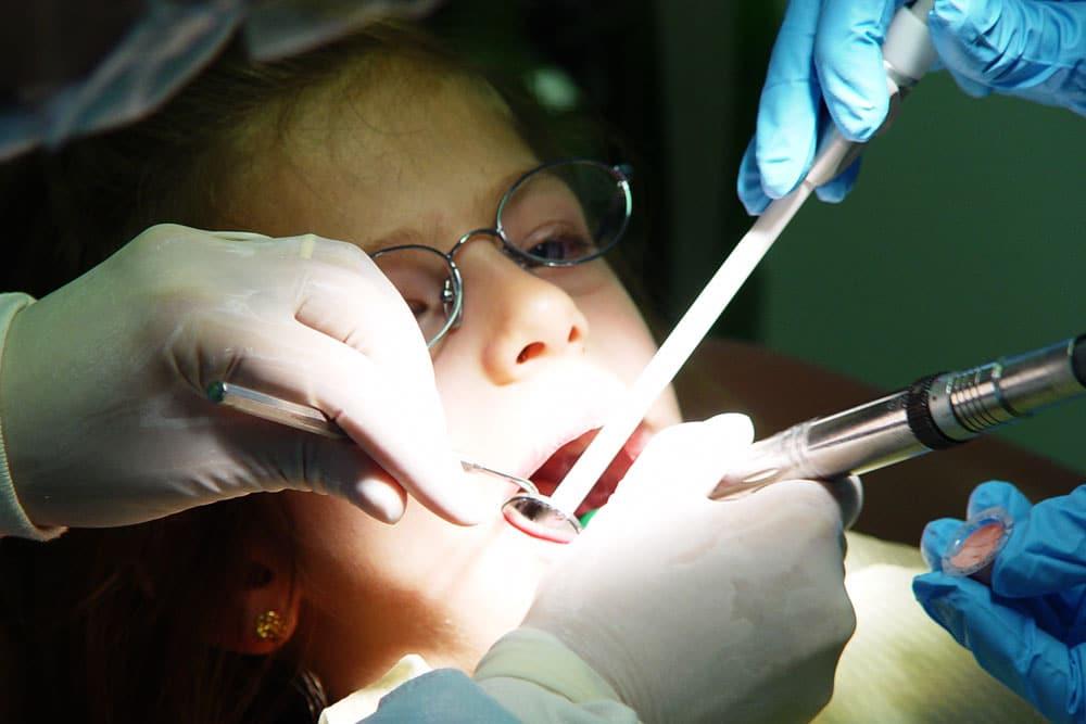 Pediatric dental treatment room