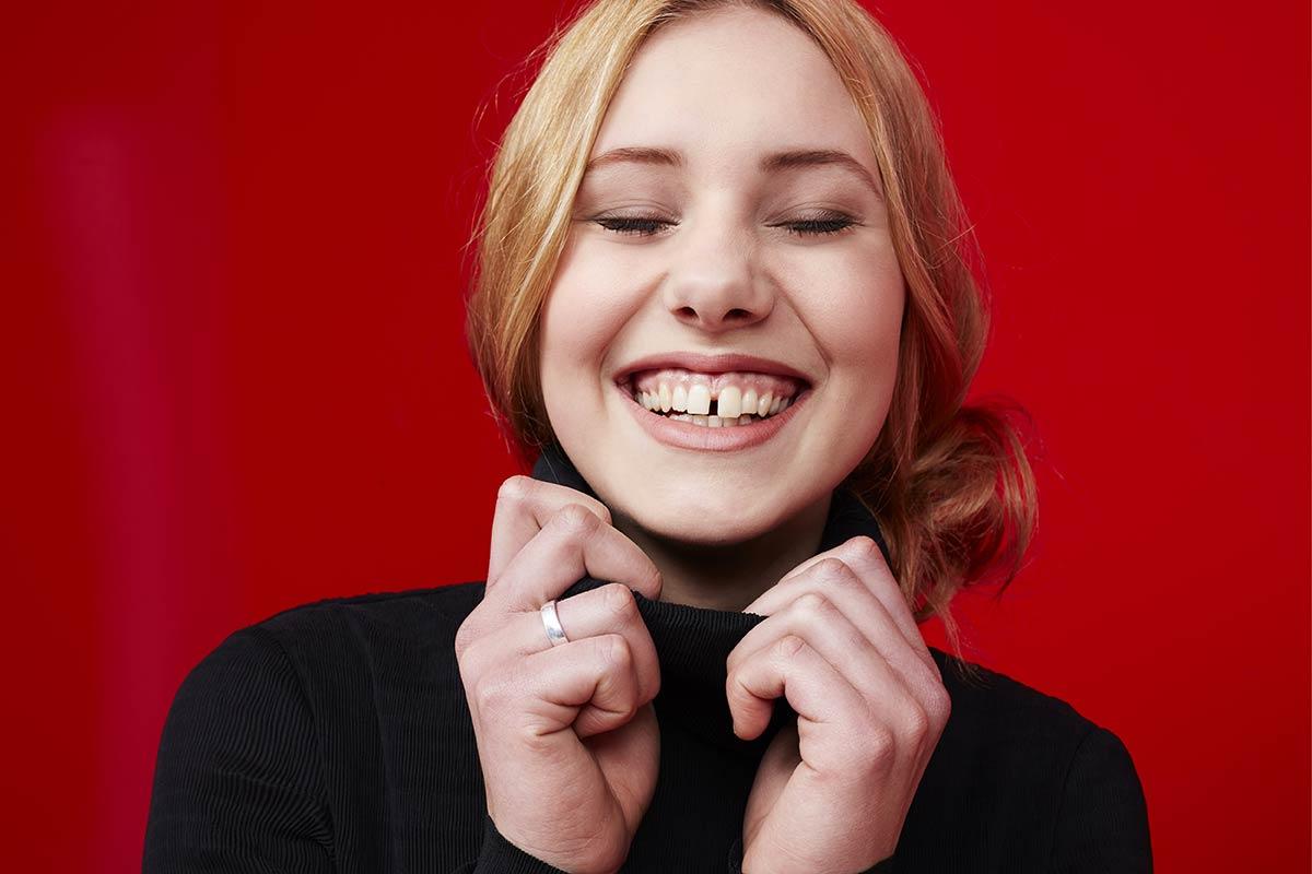 Excessive gaps between teeth